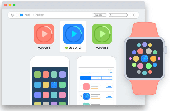 Mockup.io prototyping app 2