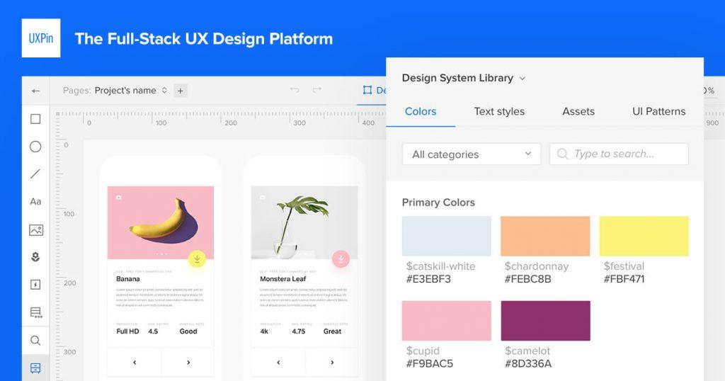 UXPin prototyping app