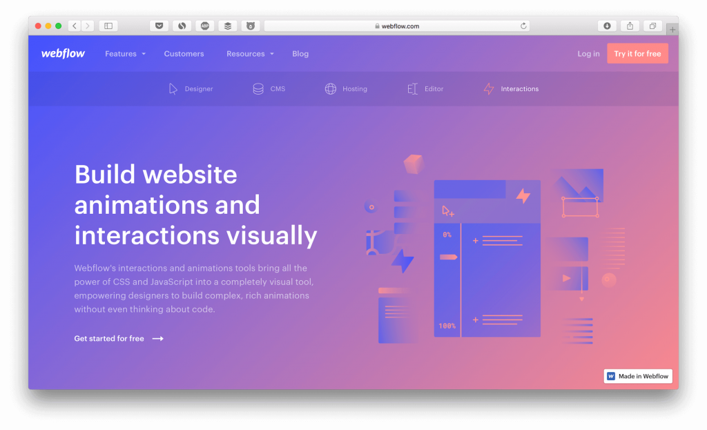 build an mvp with webflow